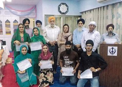 Hongkong Gurdwara Sahib giving scholarships for further studies