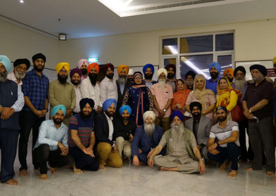 Global Sikh Council member meeting
