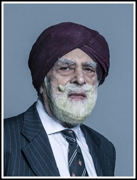 Will the UK Government respect the Human Rights of Farmers in India?  Lord Singh of Wimbledon's has again raised the question of farmers protesting in India, asking the government if any future trade deal will respect the human rights of farmers already reeling from new controversial laws to dictate commodity prices ?   Lord Singh made the following contribution on the Withdrawal Agreement Update statement in the House of Lords: